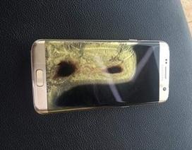 Thêm trường hợp Galaxy S7 edge bốc cháy