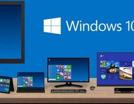 Windows 10 tăng trưởng chậm chạp, cán mốc 400 triệu thiết bị được cài đặt