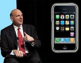Cựu CEO Microsoft thừa nhận sai lầm lớn khi chế giễu chiếc iPhone đầu tiên