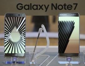 Samsung bị kiện vì khách hàng không được mang Note7 lên máy bay