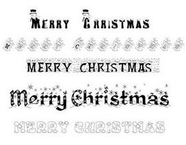 Bộ sưu tập font chữ theo phong cách Giáng sinh độc đáo