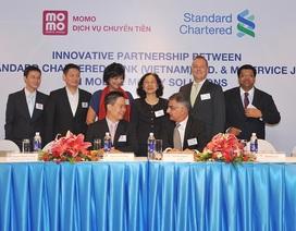 Standard Chartered triển khai dịch vụ ví điện tử trên di động với M_Service