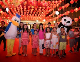 Sài Gòn rực rỡ với con đường đèn lồng hoành tráng nhất dành tặng cư dân Vinhomes Central Park