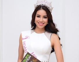 Hoa hậu Hoàn vũ Việt Nam 2015 Phạm Hương: sẵn sàng để tỏa sáng