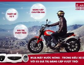 Mua máy nước nóng, trúng ngay siêu xe Ducati