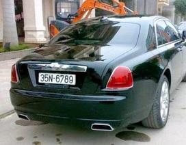 """Siêu xe Rolls-Royce 17 tỷ đeo biển """"san bằng tất cả"""" giả"""