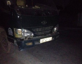 Xe tải gây tai nạn chết người, tài xế bỏ đi
