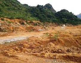 Vụ khai thác đất rừng trái phép: Do xã buông lỏng quản lý