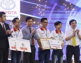 LH-FF Đại học Lạc Hồng vô địch Robocon Việt Nam 2016