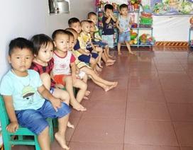 25 trẻ chen chúc trong phòng học 12m2