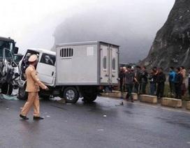 Vụ xe chở phạm nhân gặp nạn: Một phạm nhân tử vong