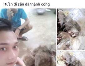 """Vụ khoe """"chiến tích"""" bắn khỉ lên Facebook: Khỉ nhà... hàng xóm"""