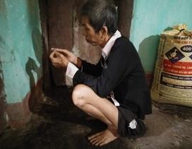 Đã xét hộ nghèo cho cụ bà 87 tuổi nuôi hai con tâm thần
