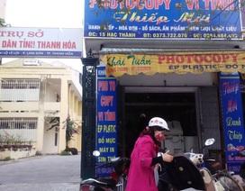 Ai cho thuê mặt tiền của trụ sở tiếp dân tỉnh Thanh Hóa?