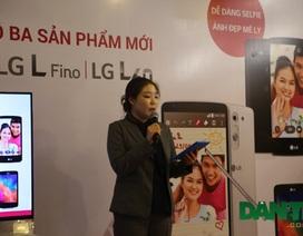 LG trình làng bộ ba smartphone tầm trung tại Việt Nam