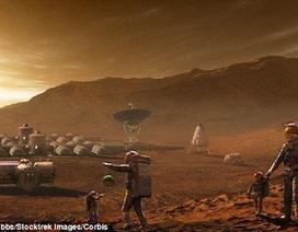 Kể cả sống được trên sao Hỏa, con người cũng không thể sinh sản được