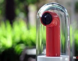 Đập hộp thiết bị chụp ảnh HTC Re Camera tại Việt Nam