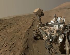 Tìm thấy khí metan trên bầu khí quyển sao Hỏa