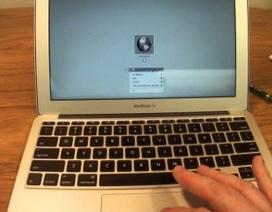 Dùng Internet Recovery cài đặt lại MAC OS X