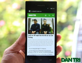 Philips tung smartphone pin khủng, chờ lên đến 60 ngày tại Việt Nam