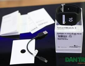 Đập hộp đồng hồ thông minh Sony Smartwatch 3 tại Việt Nam