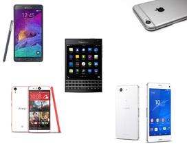 Top 10 smartphone cao cấp đáng chú ý trong năm 2014 tại Việt Nam