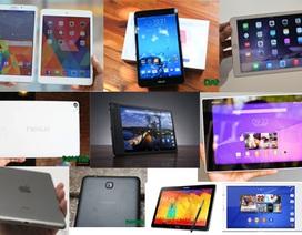 Top 10 máy tính bảng mỏng đẹp nhất năm 2014