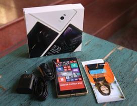Đập hộp Lumia 930 phiên bản màu vàng đặc biệt tại Việt Nam