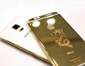 Chiêm ngưỡng bộ đôi iPhone 6 Plus và Galaxy Note Edge mạ vàng độc đáo