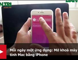 Mỗi ngày một ứng dụng: Mở khoá máy tính Mac bằng iPhone
