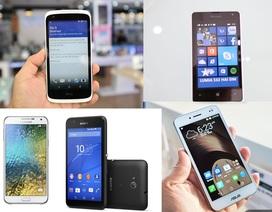 Loạt smartphone mới vừa lên kệ trong tháng 3/2015