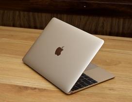Macbook 12 inch màu vàng xách tay về Việt Nam giá 36 triệu đồng