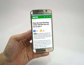 Đập hộp Galaxy S6 gold chính hãng tại Việt Nam
