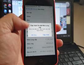 Đã chặn được việc trừ tiền khi khởi động lại trên iPhone 5C và 5S Docomo
