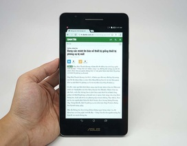 Đập hộp Asus FonePad 7 thế hệ mới vừa bán ra thị trường Việt