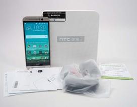 Đập hộp HTC One M9 chính hãng tại Việt Nam