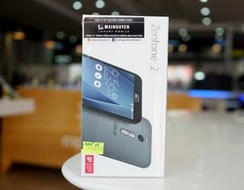Đập hộp Zenfone 2 chính hãng tại Việt Nam