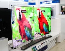 Cận cảnh TV màn hình cong SUHD giá hơn 200 triệu đồng tại Việt Nam