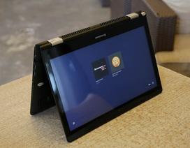 Cận cảnh Yoga 500 - laptop tầm trung biến hình của Lenovo