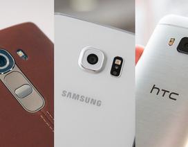 Top những smartphone mạnh nhất nửa đầu 2015