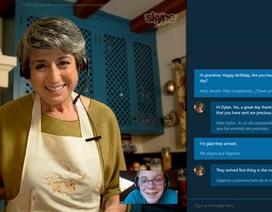 """""""Phiên dịch"""" Skype Translator phát hành rộng rãi đến người dùng"""