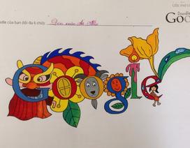 Trang chủ Google trưng bày tác phẩm Doodle của trẻ em Việt