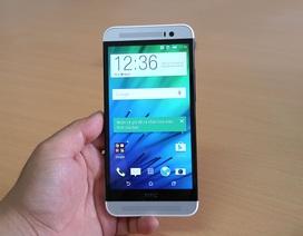 Đập hộp HTC One E8 phiên bản 2 SIM mới lên kệ thị trường Việt