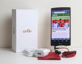 Đập hộp LG G4 chính hãng giá 15,9 triệu đồng