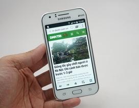 Đập hộp Samsung Galaxy J1 chính hãng tại Việt Nam