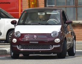 Rò rỉ hình ảnh Fiat 500 facelift 2016 trước ngày ra mắt