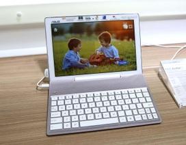 Cận cảnh tablet ZenPad 10 tích hợp phím rời của Asus