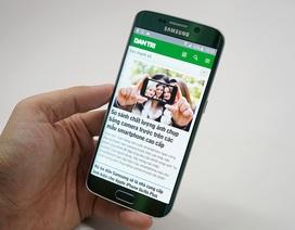 Đập hộp Galaxy S6 edge xanh ngọc chính hãng tại Việt Nam