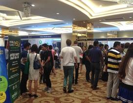 Mobile Game Asia 2015 sôi nổi trong ngày đầu khai mạc