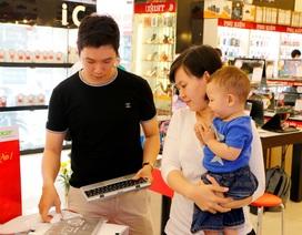 Thị trường tablet, laptop ổn định và tăng trưởng đều